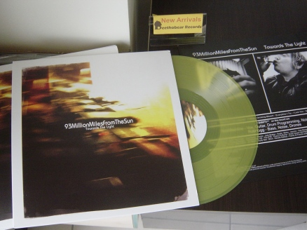 93MillionMilesFromTheSun – 'Towards The Light' (In At The Eye) LP