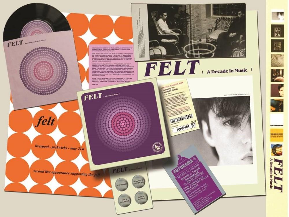 FELT CD boxset 內裝